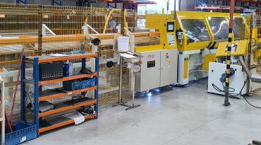 Nova Serra automática de corte de  tubos